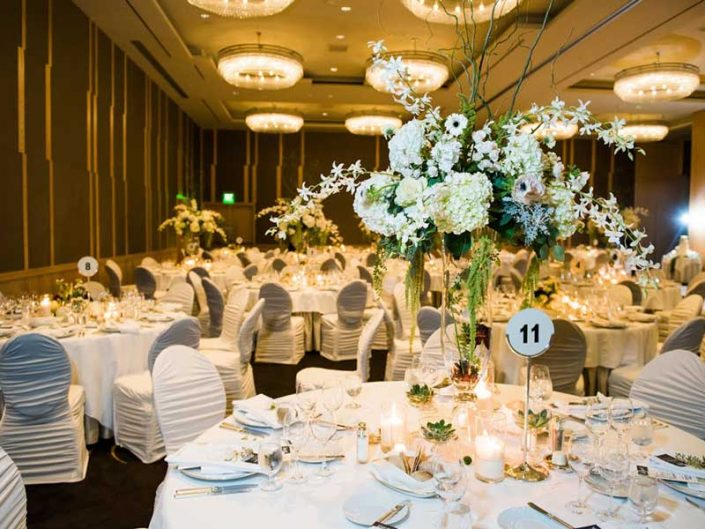 Four Seasons Wedding Reception
