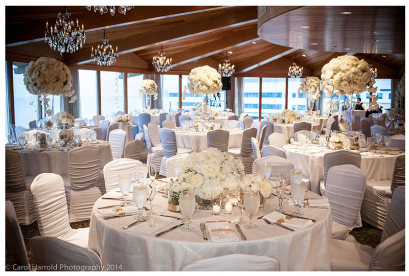 Winter Romance at the Edgewater Hotel Seattle Floral Design