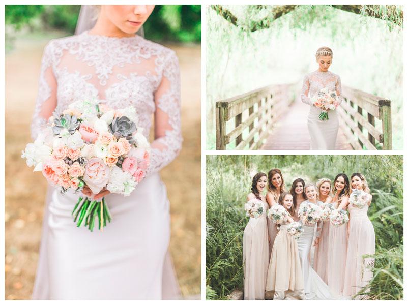 Vintage romance at jardin del sol seattle floral design for Au jardin wedding