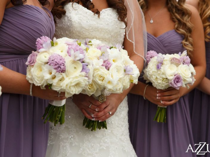 wedding-bridal-bouquet-bridemsids-lavender-light-pink-calla-lily-orchid-roses-ranunculus-Newcastle-Golf-Club